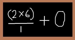 Chalkboard Calculation Math